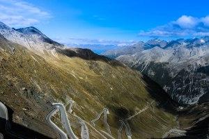 Passhöhe 2505 m