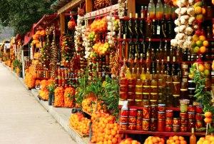 Shops im Neretwa Delta