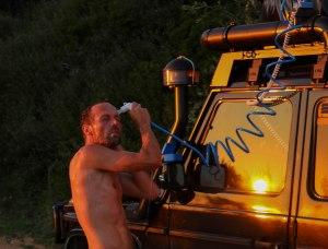 Körperpflege Teil 2 - Open Air Dusche