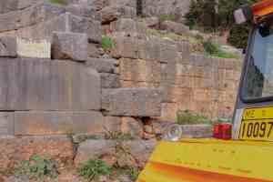 Delfi - Tempel von Manitou