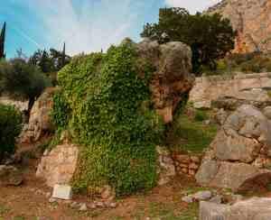Delfi - das Orakel - der Stein der Sybille
