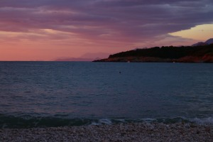 Strand in Montenegro