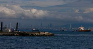 erster Blick auf Istanbul