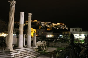 Athen by night