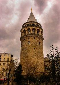 der Galataturm - einer der ältesten Türme der Stadt