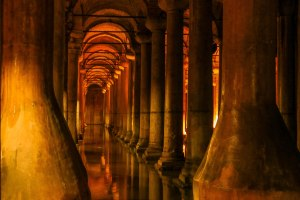 versunkener Palast - Basilika Zisterne