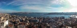 Bosporus und das goldene Horn