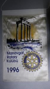 Wimpel des Rotary Club Manavgat