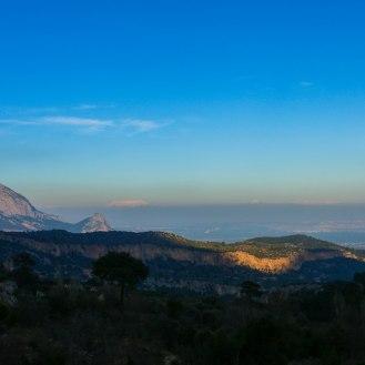 Blick auf Antalya
