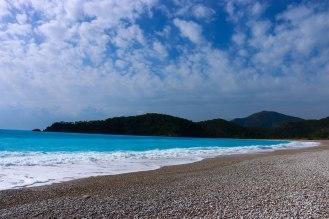 Strand von Ölüdeniz - blaue Lagune