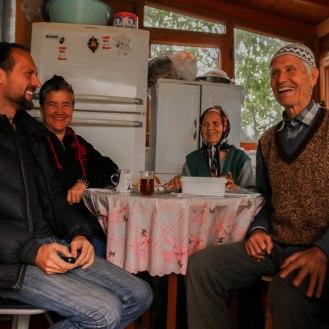 in der Küche von Neriman und Ali