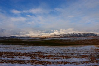 Winterlandschaft im türkischen Hochland