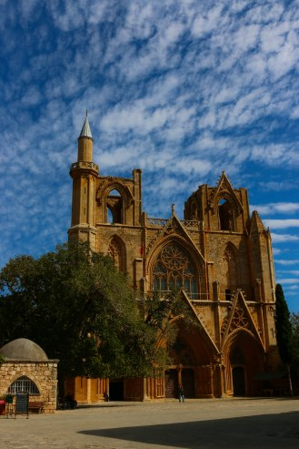 Nikolaus Kathedrale, Krönungskathedrale der Kreuzfahrer, heute Lala-Mustafa-Pascha-Moschee