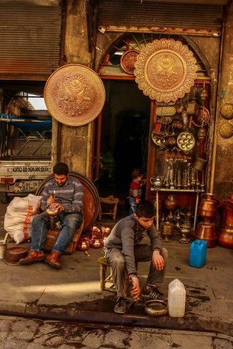 Kupferschmied in Gaziantep