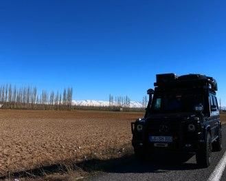 auf der Fahrt ins anatolische Hochland