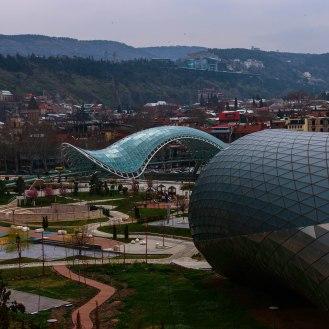 Tiflis Friedensbrücke