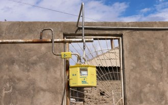 Gasleitung in Armenien