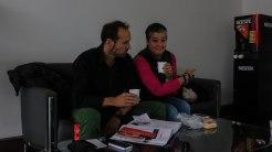 unser Wohnzimmer bei MB Eriwan