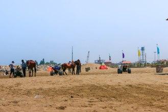 Beachlife Kaspisches Meer
