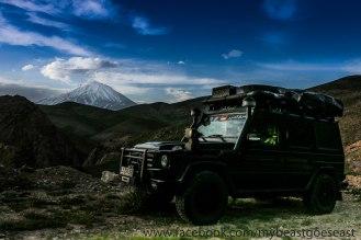 Mount Damavand 5671 m