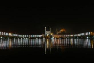 Esfahan bei Nacht
