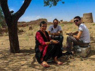 Kaffeepause Mesr nach Damghan