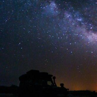 Milchstraße in der Wüste Kavir