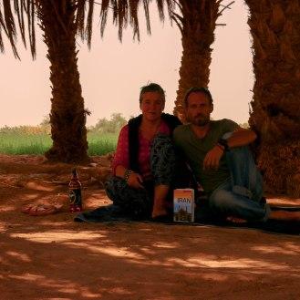 Oase in der Wüste Lut