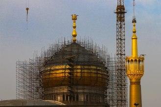 Tehran Baustelle Khomeni Shrine