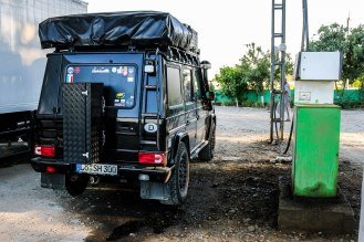 Dieselknappheit in Usbekistan - nirgendwo war es schwieriger an Diesel zu kommen