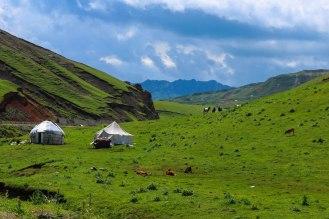Nomaden in Tadschikistan