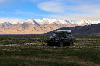 am Karakul See