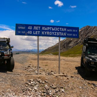 noch in Kirgistan