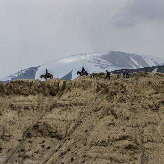 Afghanen auf ihrem Highway