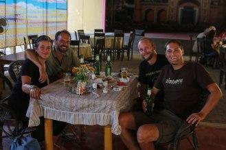 Luc & Laurant aus Luxembourg - netter Abend, viel Bier ;-)