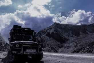 Kongur Shan 7.719 m - höchster Berg des Pamir