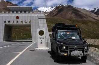 in Pakistan - Khunjerab Pass 4.733 m