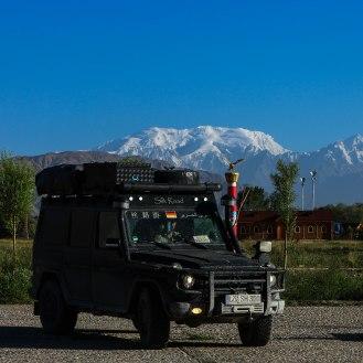in Tashkurgan - Muztagh Ata 7.546 m