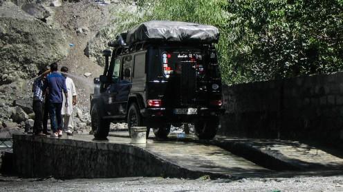 Autowaschanlage in Gilgit