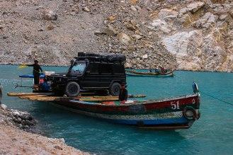 Ankunft am Südufer des Attabad Lake