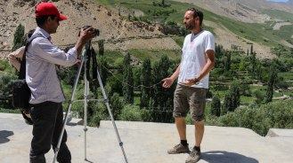 Interview in Hopar Valley