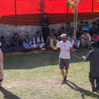 Tanzeinlage am Cultural Revival Festival