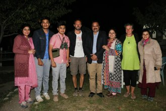 Gruppenfoto mit Mujahids Familie im Hopar Valley