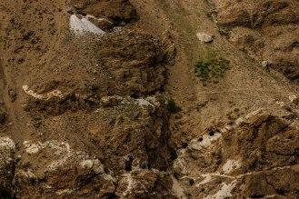 Edelsteinminen im Indus Tal