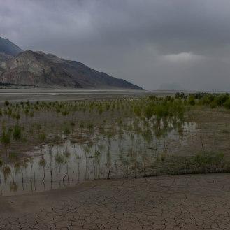 bei Skardu öffnet sich das Indus Tal