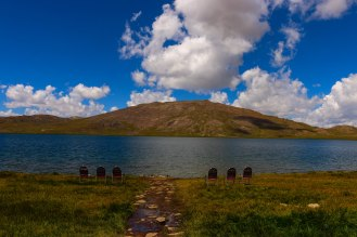 Sheosar Lake in Deosai