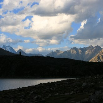 Abendstimmung am Rama Lake