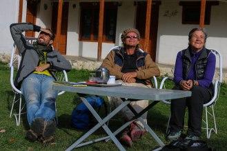mit Helmut in Tarishing - wo ist denn der Nanga Parbat?