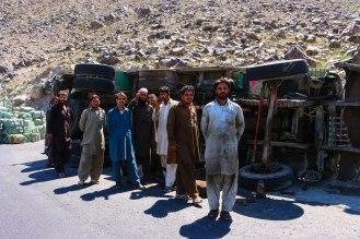 gefährliche Fahrt auf dem Karakorum Highway