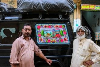 geschafft! - Pakistani Truck Art am Beast